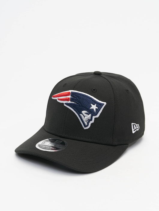 New Era NFL Stretch Snap New England Patriots 9fifty Snapback Cap Black/Official Team Color image number 0
