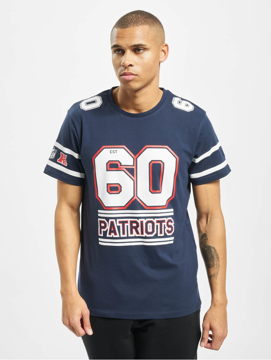 New Era NFL New England Patriots Team Established T Shirt Blue