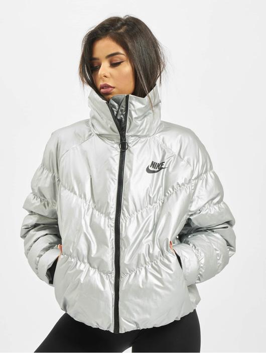 Nike Synthetic Fill AOP PD Puffer Jacket Chrome YellowBlack