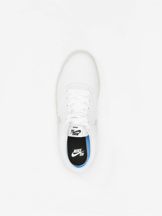 cheap prices buy online free delivery Nike SB Check Solarsoft Canvas Skateboarding Sneakers White/Vast Grey-White