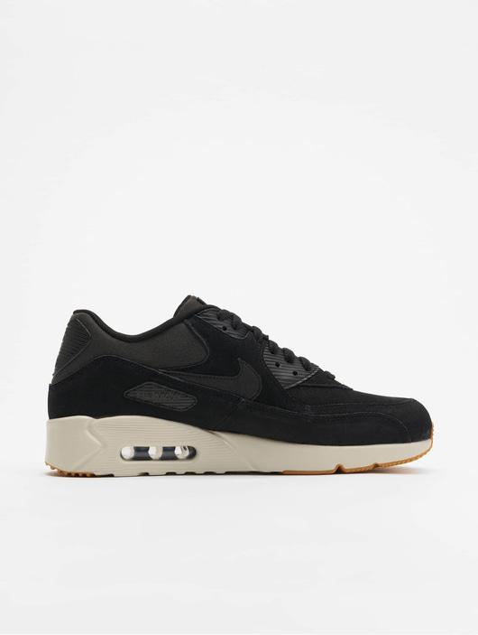 Nike Air Max 90 Ultra 2.0 Ltr Sneakers BlackBlackLight BoneGum Med Brown