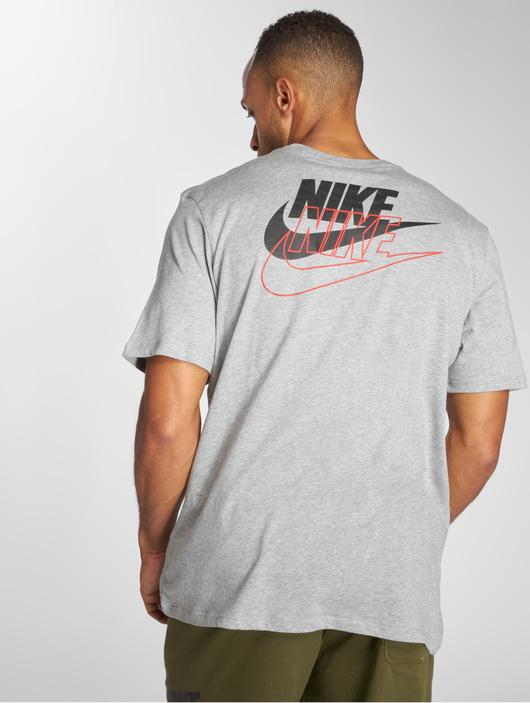 Nike Sportswear Archive T Shirt Dk Grey HeatherBlack