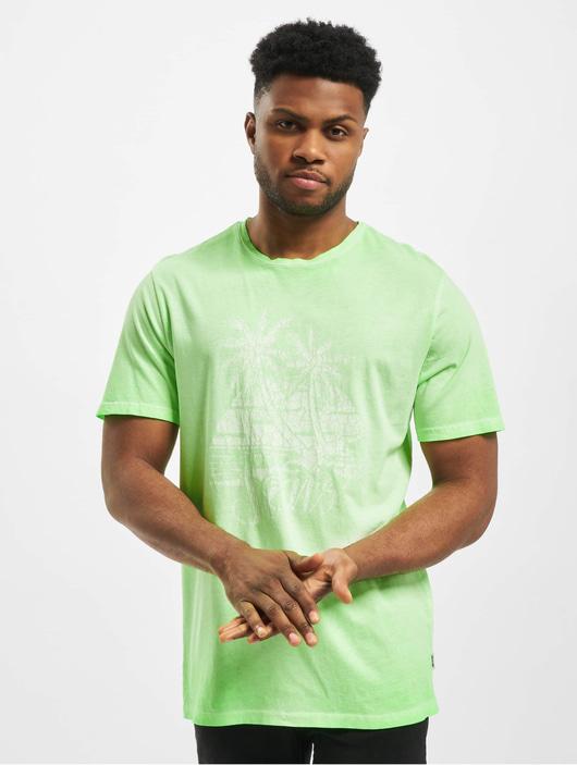Only & Sons Herren T-Shirt onsPimmit Neon in grün 745278