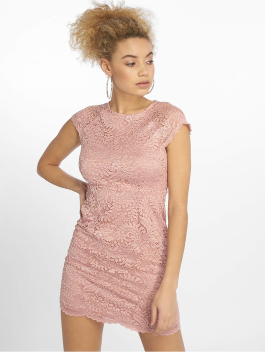 Only Damen Kleid onlShira Noos in rosa 577625