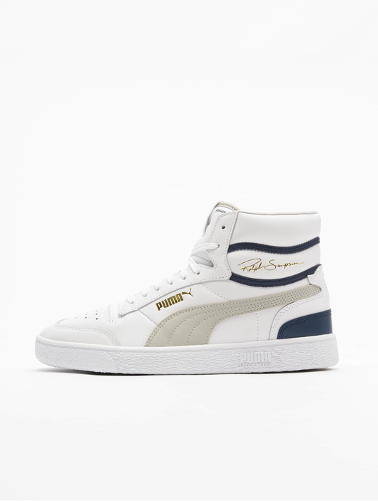 Puma Ralph Sampson Mid Sneakers Puma White/Gray Violet/Peacoat image number 0