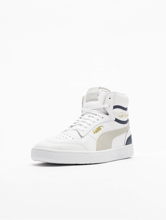 Puma Ralph Sampson Mid Sneakers Puma White/Gray Violet/Peacoat image number 1