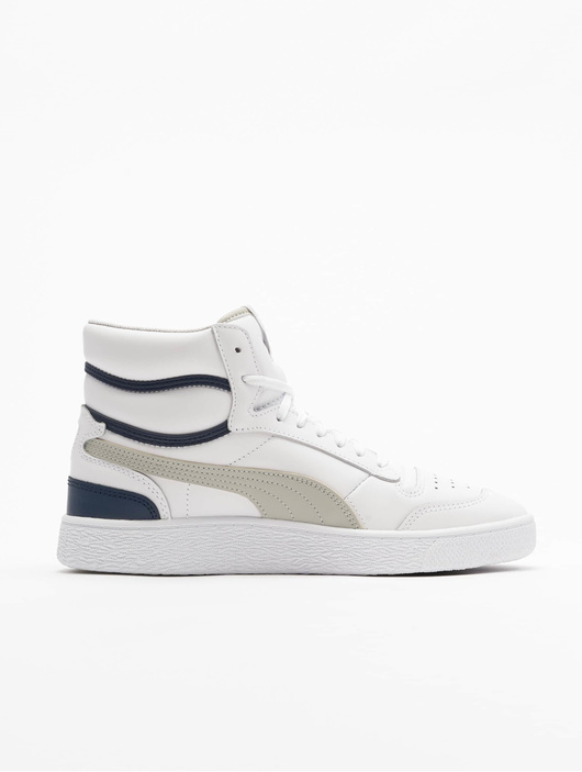 Puma Ralph Sampson Mid Sneakers Puma White/Gray Violet/Peacoat image number 2