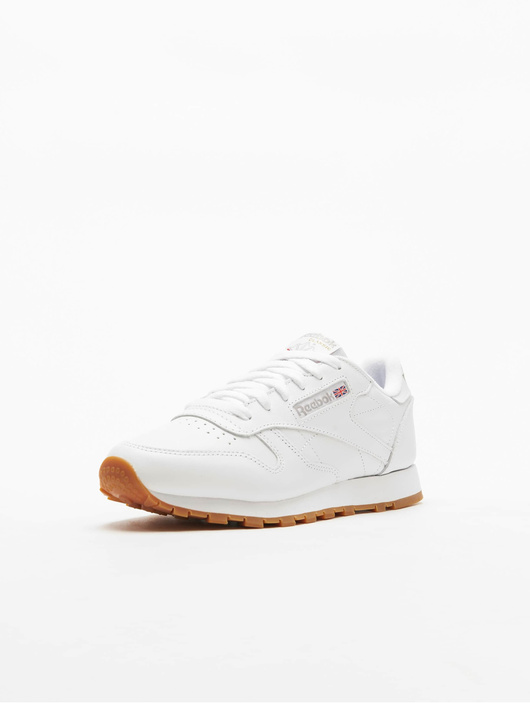 Reebok Classic Leather Sneakers White/Gum image number 1