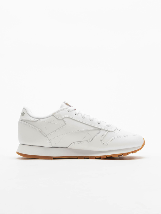 Reebok Classic Leather Sneakers White/Gum image number 2
