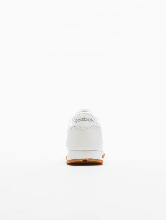 Reebok Classic Leather Sneakers White/Gum image number 4