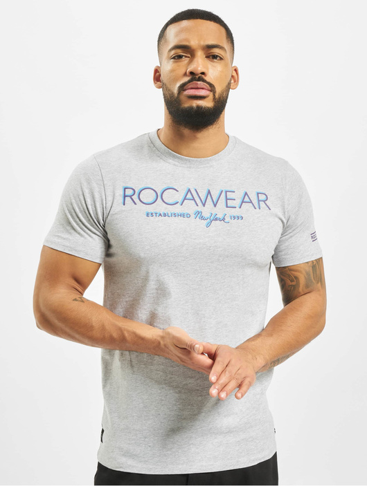 Rocawear Neon T-Shirt Grey Melange image number 2