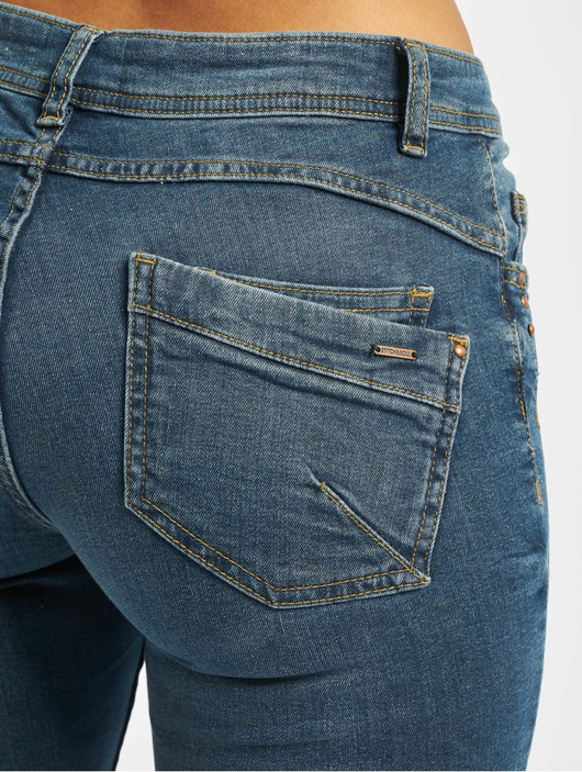 Stitch & Soul Gina Skinny Jeans Dark Blue Denim