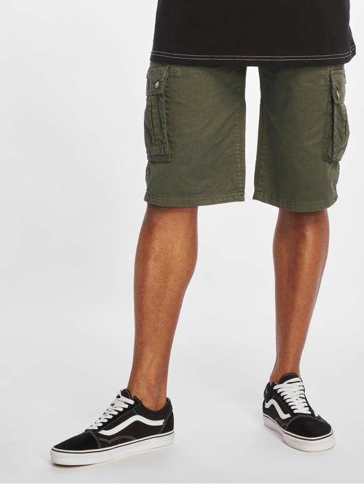 Sublevel Haka Cargo Shorts Military Green image number 2