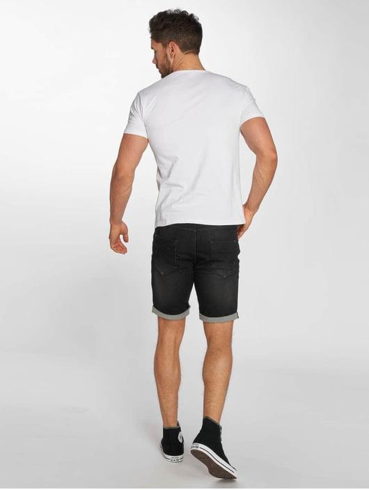 Sublevel Jogg Jeans Bermuda Shorts Black Denim image number 3