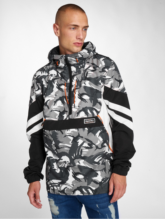 competitive price bff08 9b974 Superdry Jared Overhead Jacket Camo/Black