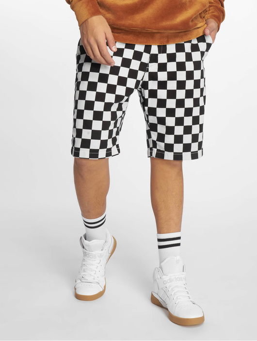 Urban Classics Check Twill Shorts Chess image number 0