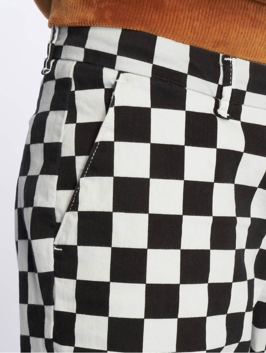 Urban Classics Check Twill Shorts Chess image number 4