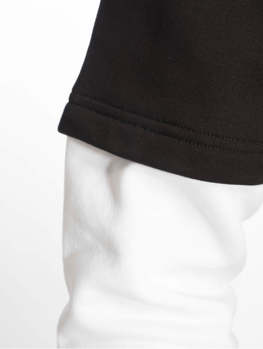 Urban Classics Double Layer Hoody Black/Charcoal image number 3