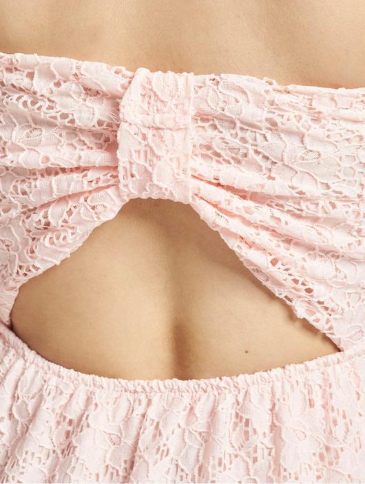 Urban Classics Damen Kleid Laces in rosa 638519