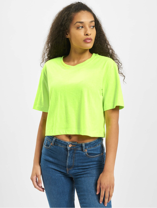 Urban Classics Damen T-Shirt Ladies Short Oversized Neon ...