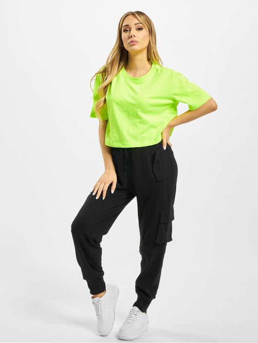 Urban Classics Damen T-Shirt Ladies Short Oversized Neon 2 ...
