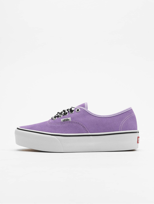 Vans UA Authentic Platform 2.0 Sneakers Checkerboard Lace/Viole image number 0