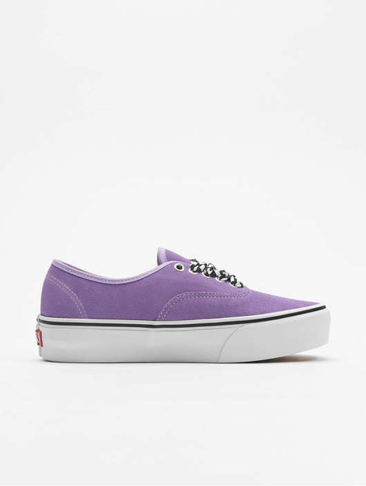 Vans UA Authentic Platform 2.0 Sneakers Checkerboard Lace/Viole image number 2
