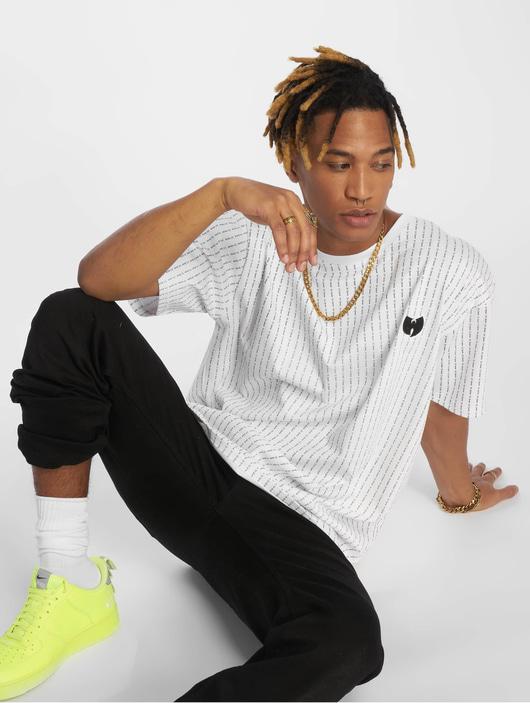 Wu Tang Pin Stripe T-Shirt Black image number 0