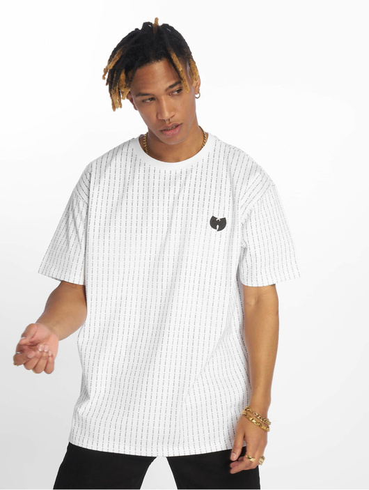 Wu Tang Pin Stripe T-Shirt Black image number 2