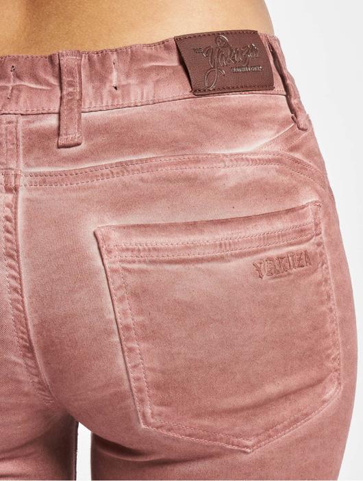 Lava Oil Neue Yakuza Damen Garage Slim Jeans
