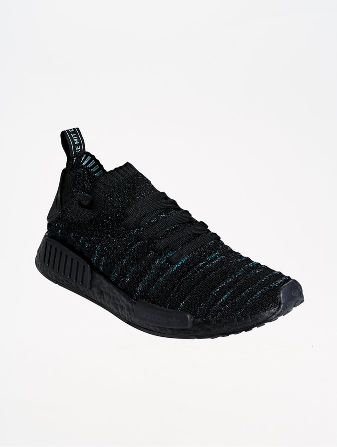 Black Parley Adidas Originals Sneakers Core Stlt Primeknit Nmd r1 WE9IH2D