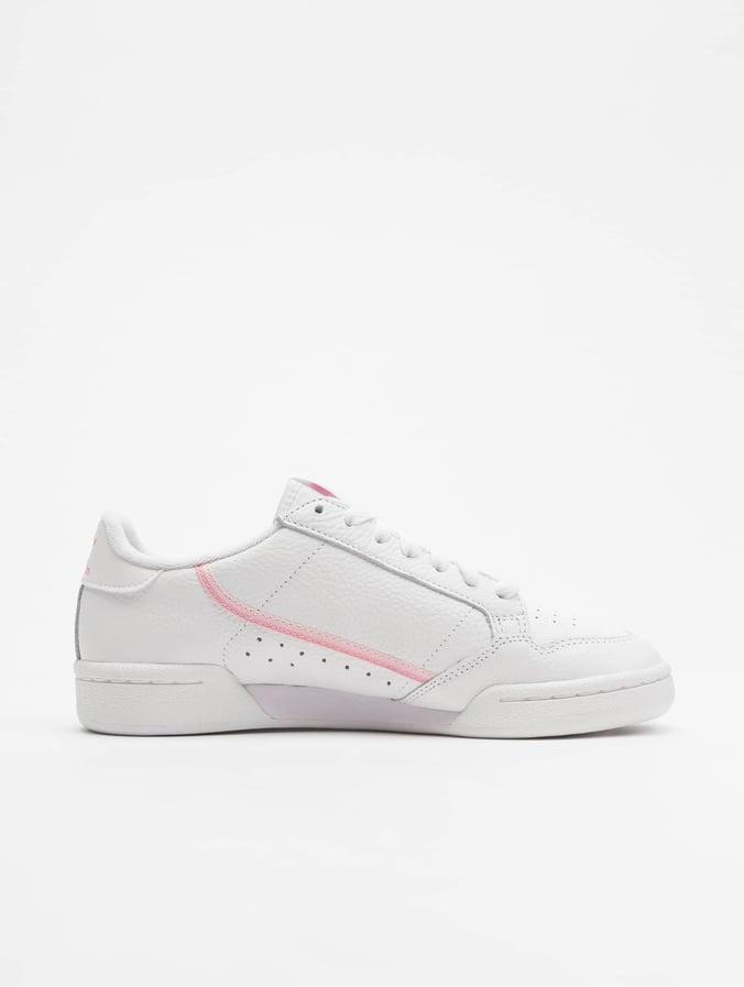 White Sneakers W Continental Adidas Originals Ftwr 80 3R54LAj