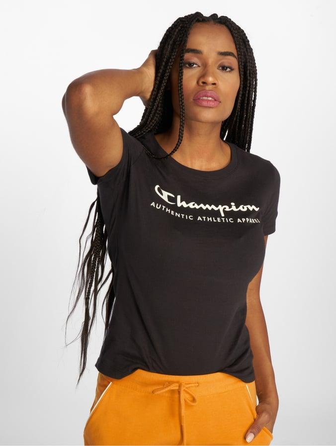 Femme Passion Shirt 54jarl Athleticsbrand Noir 529214 T Champion bfmYv7ygI6