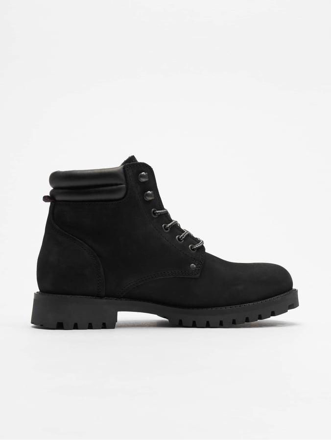 Warm Jackamp; Boots Jonesj Fwstoke Nubuck Black f7bY6gyv