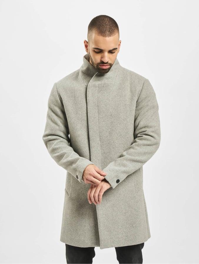 Melange Jones Light Jprcollum Jackamp; Coat Wool Grey xdCoBer