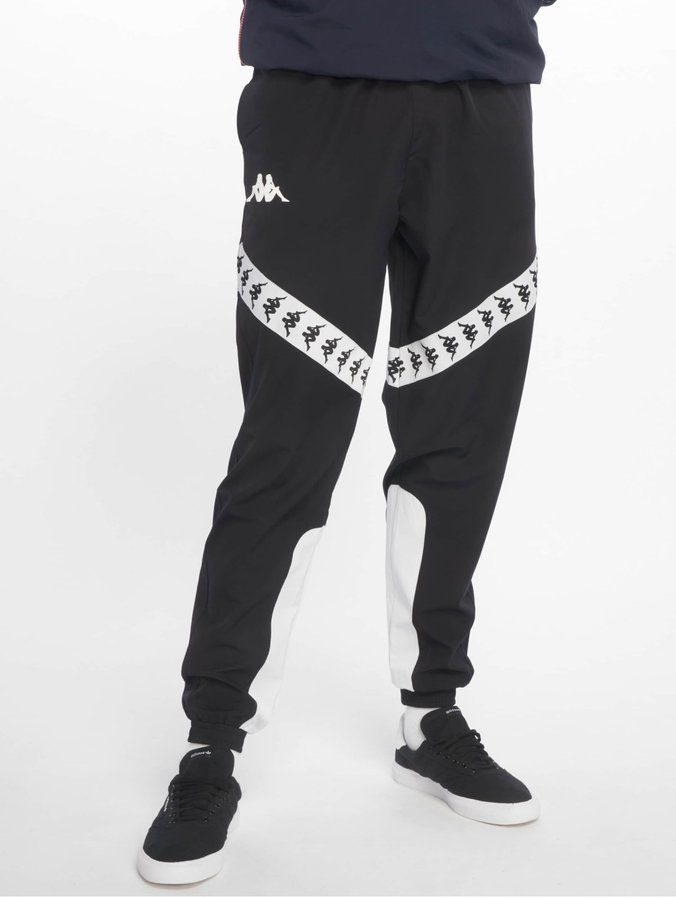 Kappa Balmar Blackwhite 222 Sweat Banda Pants WYH92IED