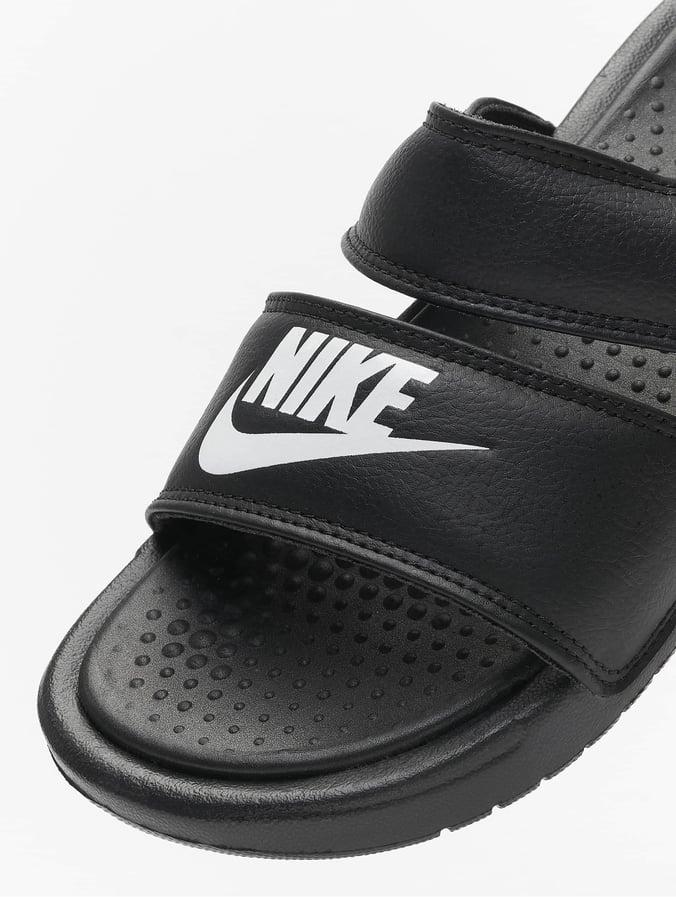 NikeBenassi 696309 Noir Claquettesamp; Sandales Slide Duo Ultra Femme 4L5RjA3qc