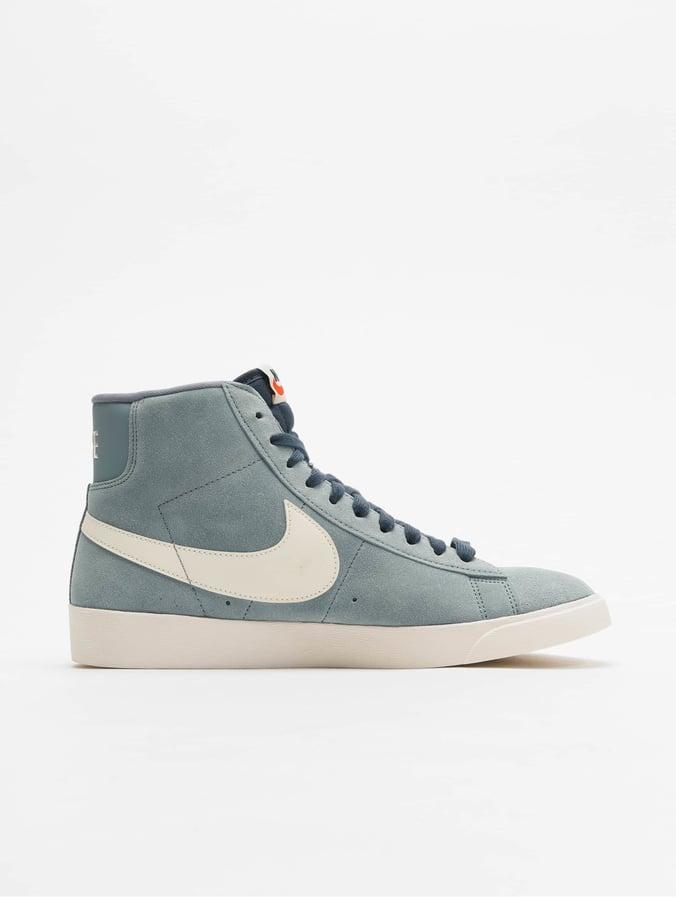 Suede Sneakers Mid Aviator Vintage Nike Blazer Blue Greysailmonsoon LUqSMVzGp