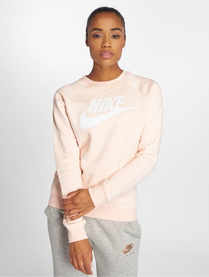 Nike Rally Pinkheatherwhite Sweatshirt Storm Sportswear BedCWrxo