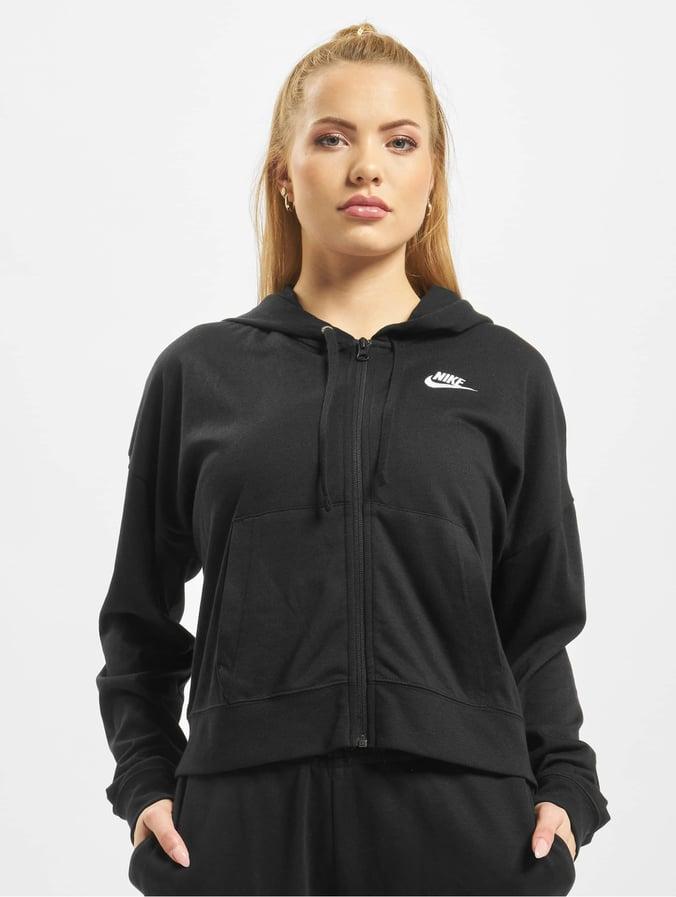 Nike Blackblackwhite New Fz Hoodie Jrsy hsxdtQCr