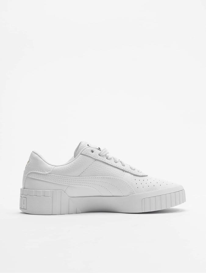Puma Cali White Sneakers Whitepuma Women's S3Rqc4L5Aj