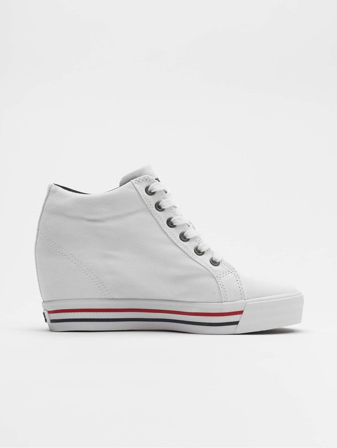 Sneakers White Wedge Casual Tommy Jeans W9EHIYeD2