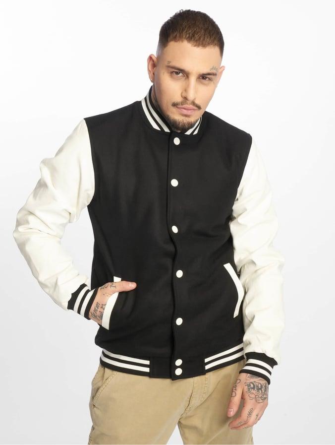 Classics College Oldschool Blackwhite Jacket Urban PXuZOki