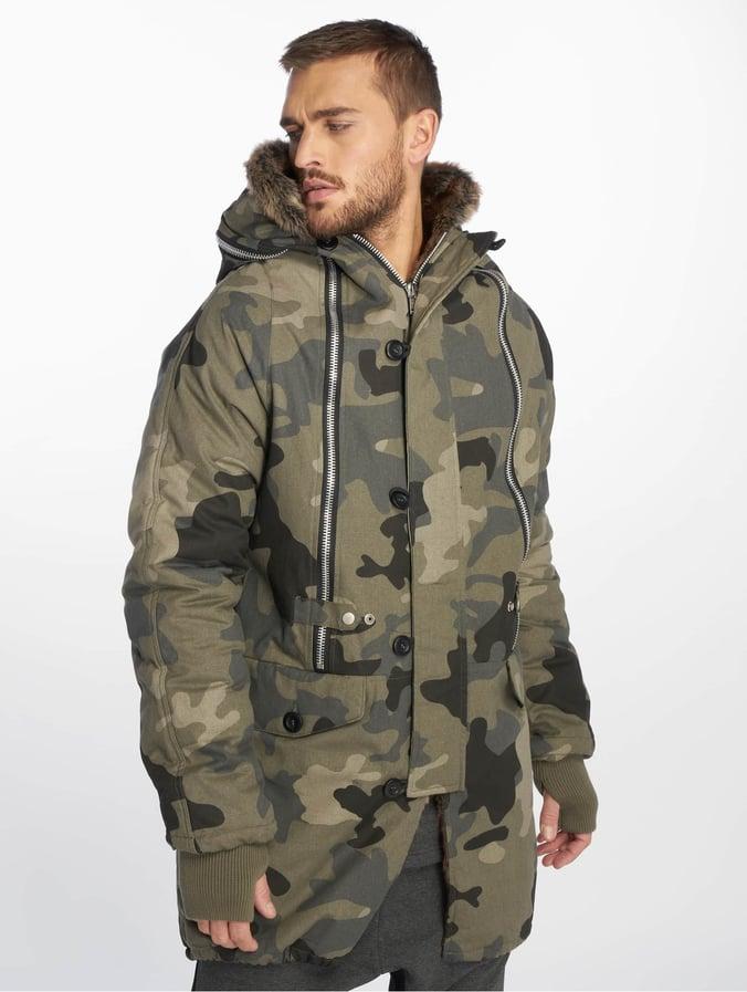 Zipper Luxury Vsct Parka Clubwear Camo Huge Double KJ3FTlc1