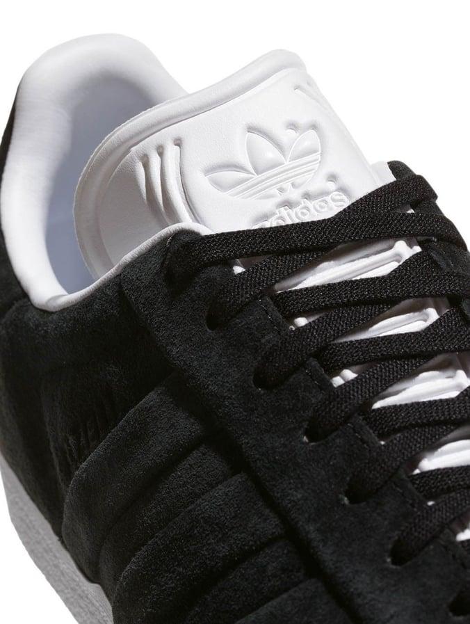 adidas Herren Gazelle Stitch and Turn Fitnessschuhe, Schwarz