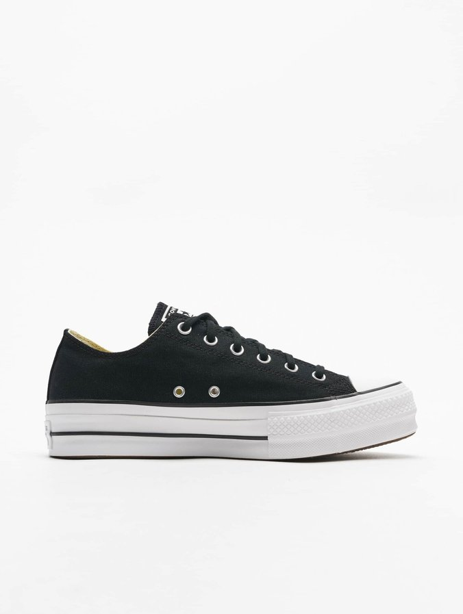 Converse Chuck Taylor All Star Lift Ox Sneakers Black/White/White