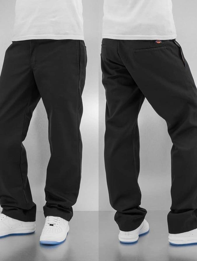 Dickies WP873 Slim Straight Work Pant Rinsed Black