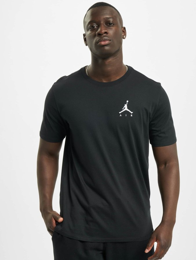 Jordan Sportswear Jumpman Air Embroidered T Shirt BlackWhite