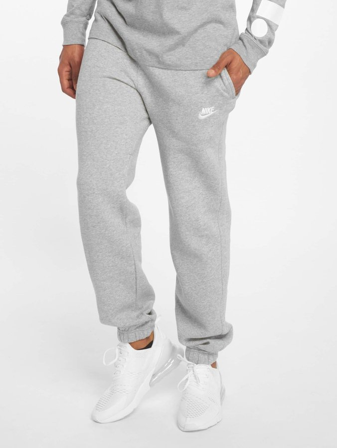 Nike NSW CF FLC Club Sweatpants Dark Grey HeatherWhite
