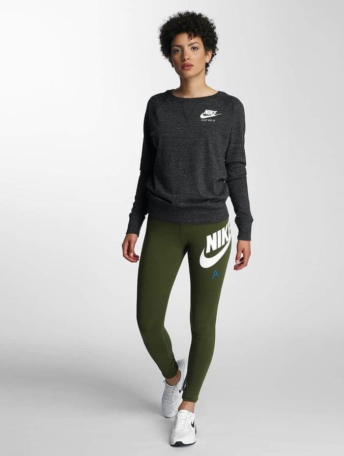 5377e2d7cd79b7 Nike Damen Pullover Sportswear Crew in schwarz 309549